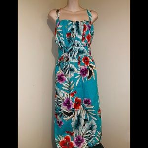 NWOT Roz&Ali Beautiful floral mid dress